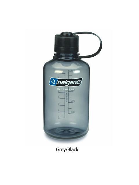 Nalgene 0,5L Narrow Mouth Bottles Grey/Black (2078-2030)